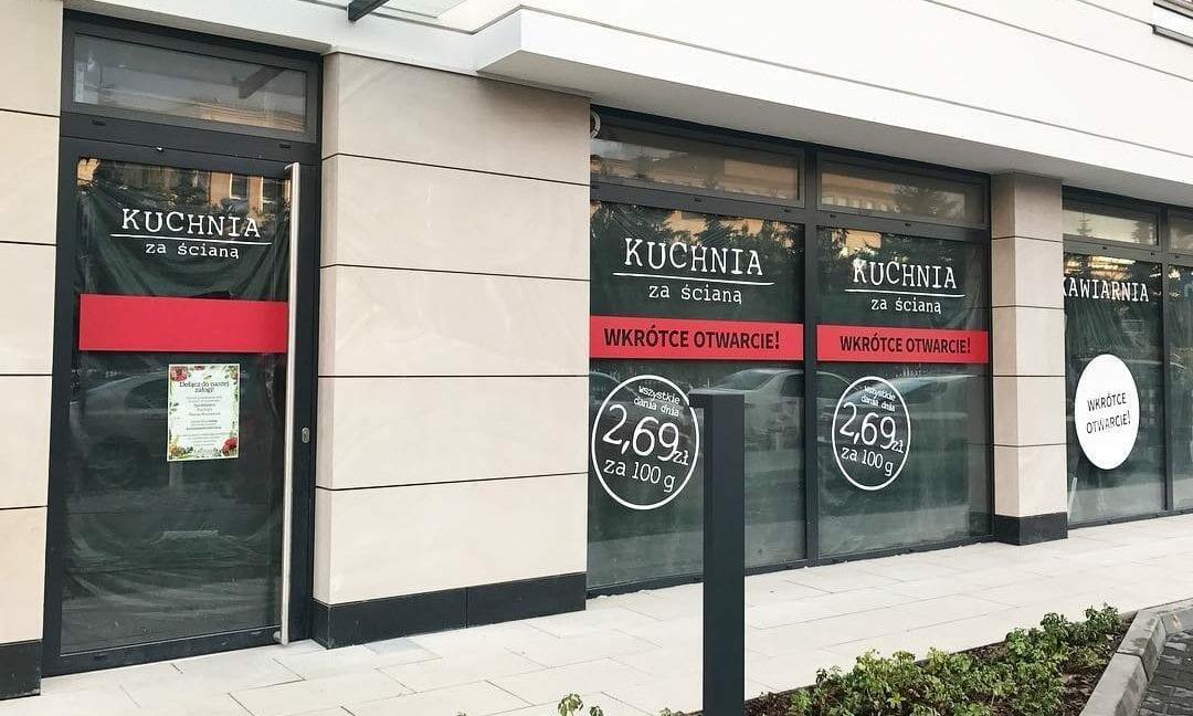 Kuchnia Za Sciana Otwiera Nowy Punkt Dla Pierwszych Klientow Obiad Za 1 Zl Horeca Business Club